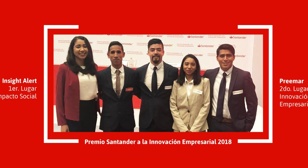 Proyectos de iLab ganan por cuarto año consecutivo el Premio Santander