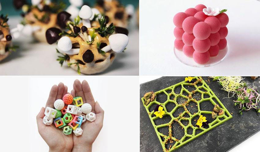 Impresión 3D, ¿la revolución en la cocina?