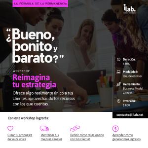 workshop online para negocios reimagina tu estrategia