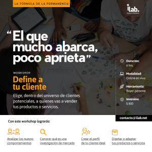 workshop online para negocios define tu cliente