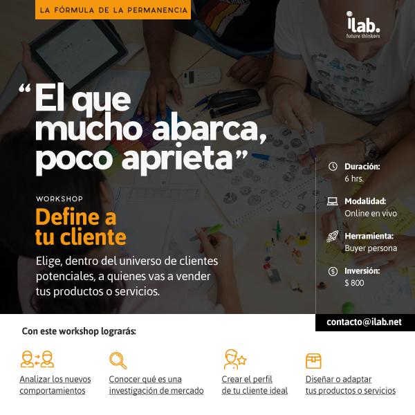 workshop online para negocios define tu cliente