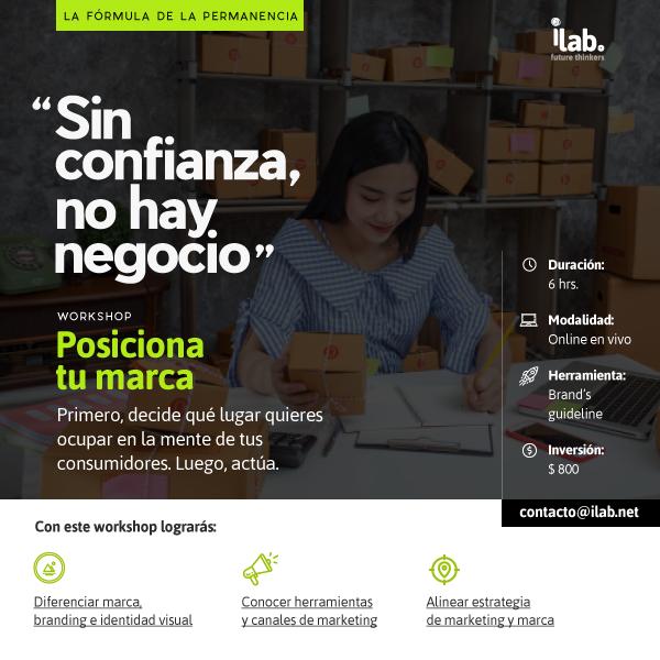 workshop online para negocios posiciona tu marca