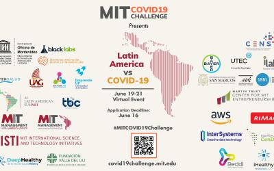 Únete al MIT COVID-19 Challenge y diseña soluciones en el corto plazo